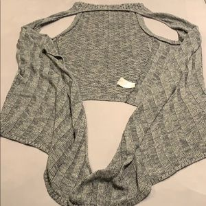 Maurice's Gray Sweater Vest Size 3
